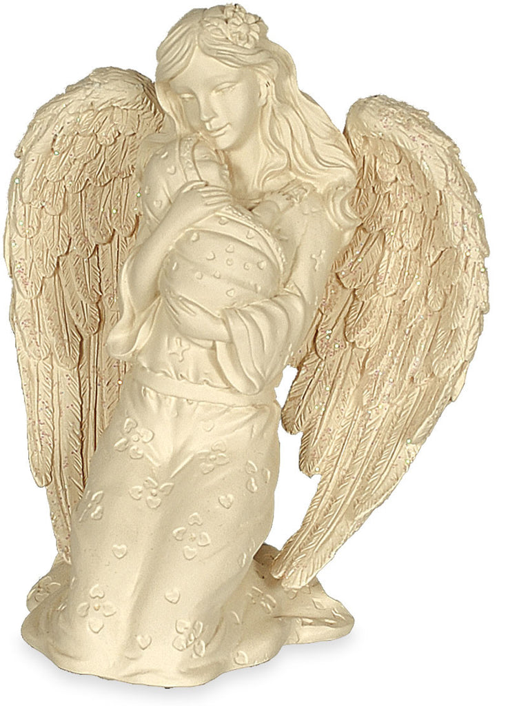 "Angel with Baby Figurine 4 1/2"" - Keepsake-Memorials"