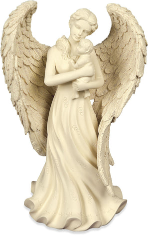Angel and Baby Figurine - Keepsake-Memorials