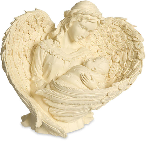 Essence of Love Figurine-Angel and Baby - Keepsake-Memorials
