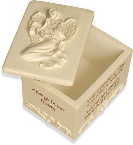 AngelStar Keepsake Box-Always In Our Heart - Keepsake-Memorials