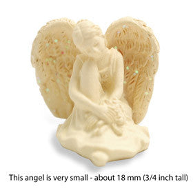 "Amazing Angel Figurine ""Serenity"" 1"" - Keepsake-Memorials"