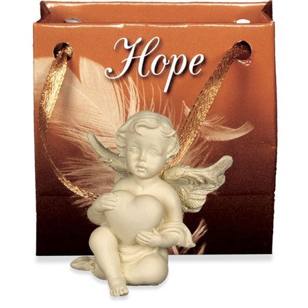 Angel of Hope-Small Cherub Gift Bagged - Keepsake-Memorials
