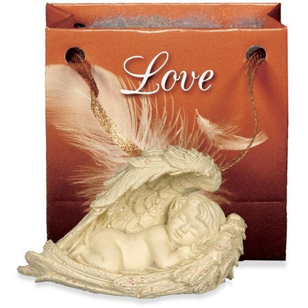 Angel of Love-Small Cherub Gift Bagged - Keepsake-Memorials