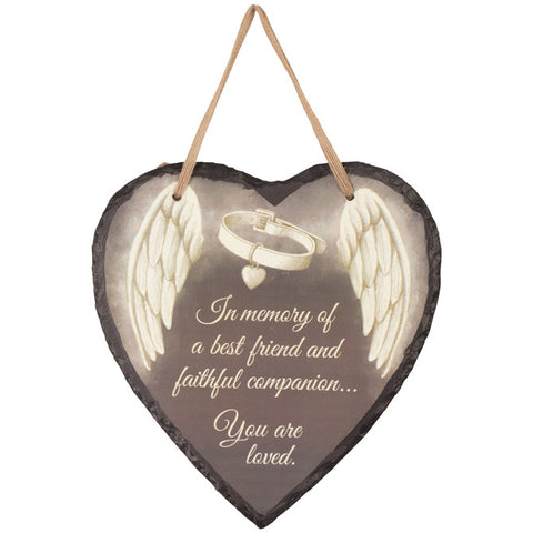 "Pet Memorial Plaque - ""Faithful Companion"" - Keepsake-Memorials"