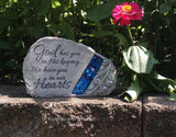 "Comfort and Light Memorial Stone - ""God has you in His keeping ..."" - Keepsake-Memorials"