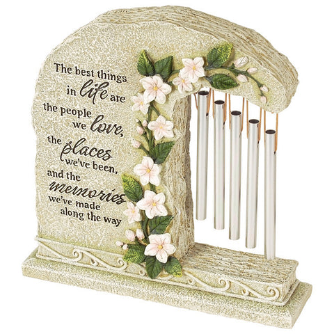 "Peaceful Reflections Garden Chime ""Miss You"" - Keepsake-Memorials"
