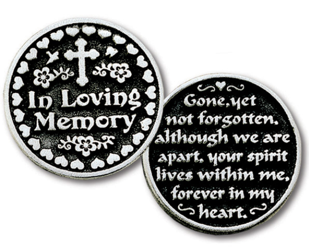 Pocket Coin Token-In Loving Memory - Keepsake-Memorials