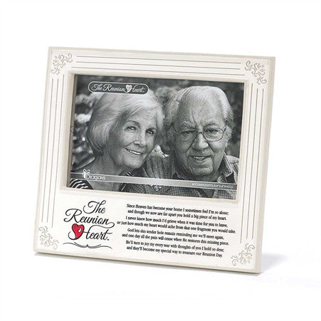 Reunion Heart Memorial Photo Frame - Keepsake-Memorials