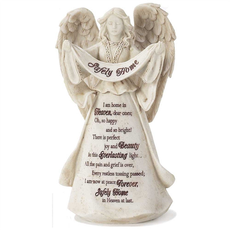 Safely Home Angel Figurine - Keepsake-Memorials