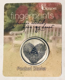 "Pocket Token & Wallet Card Set-""Fingerprints"" - Keepsake-Memorials"
