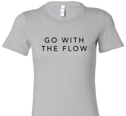 GO WITH THE FLOW SHORT SLEEVE