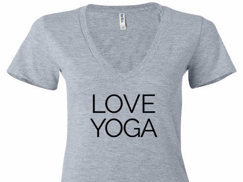 Love Yoga V-Neck