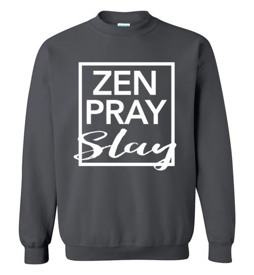 Zen Pray Slay Sweater