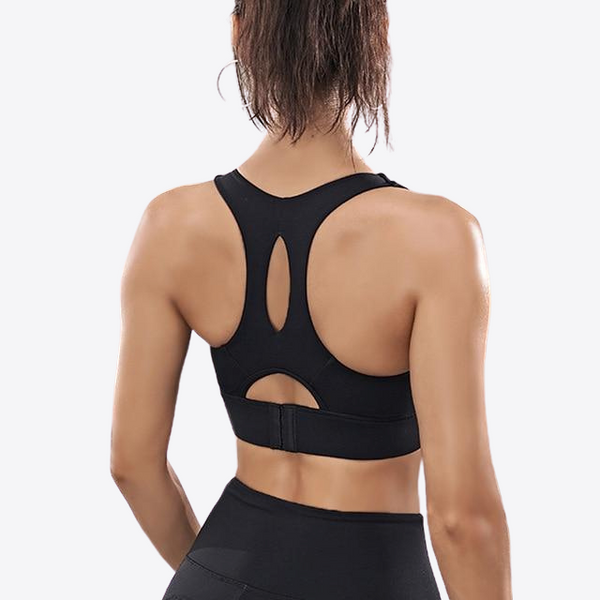 A-E CUP WORKOUT HIGH SUPPORT SPORTS BRA