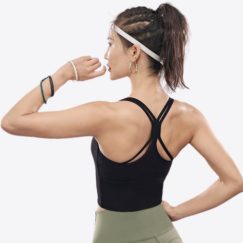 A-E CUP HIGH SUPPORT SPORTS BRA