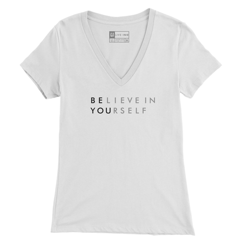 Believe in Yourself V Neck