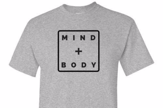 Mind And Body Grey Tee