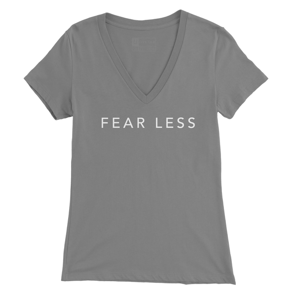 Fear Less V Neck