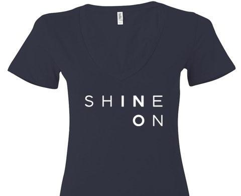 Shine On V Neck