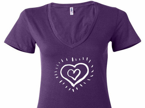 Have A Heart V-Neck