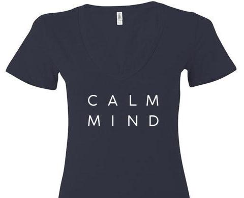Calm Mind V Neck