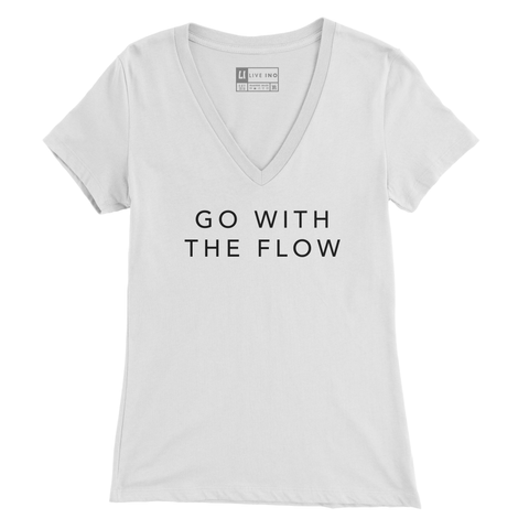 Go With The Flow V Neck