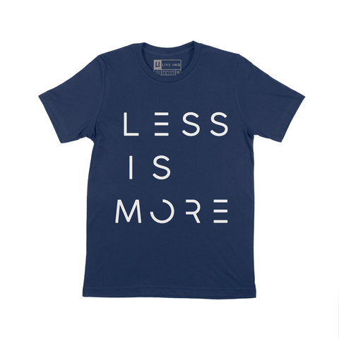 LESS IS MORE SHORT SLEEVE