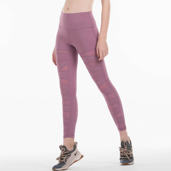 WORKOUT HIGH RISE MESH LEGGINGS