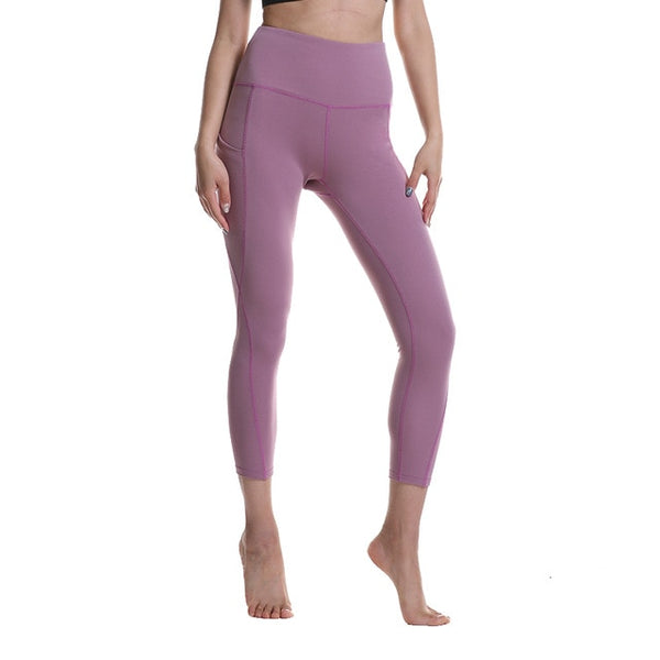 ENERGETIC HIGH RISE POCKET LEGGINGS