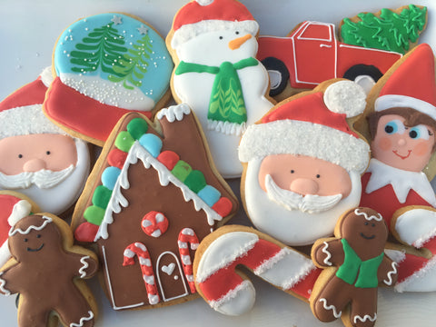Decorated Cookie - Christmas - Assorted Dozen