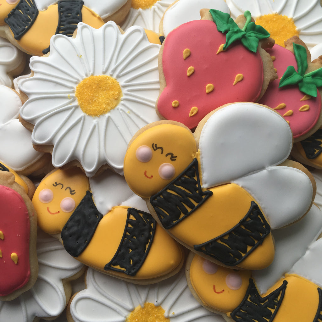 Decorated Cookie - Spring is So Sweet - Bees