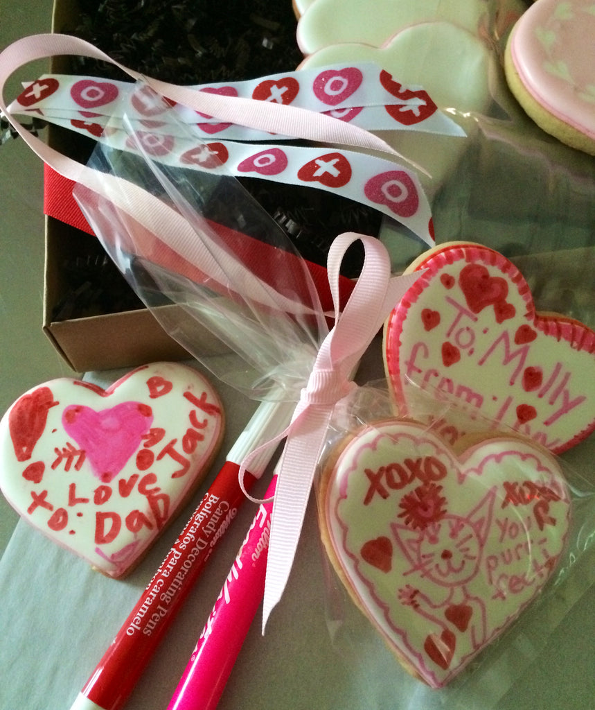 Valentine's Day - Cookies: Decorate Your Own