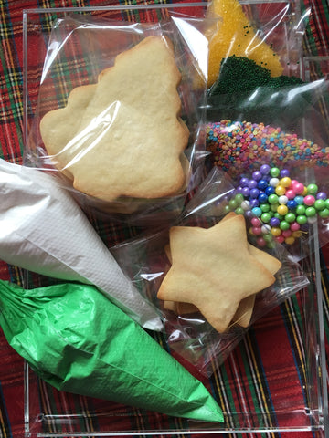 Decorated Cookie - Christmas - Decorating Kit