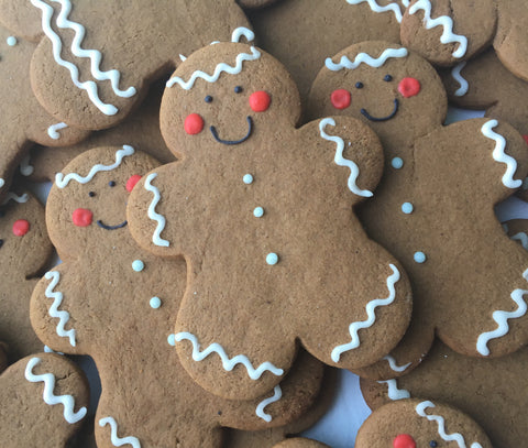 Decorated Cookie - Christmas - Gingerbread Man