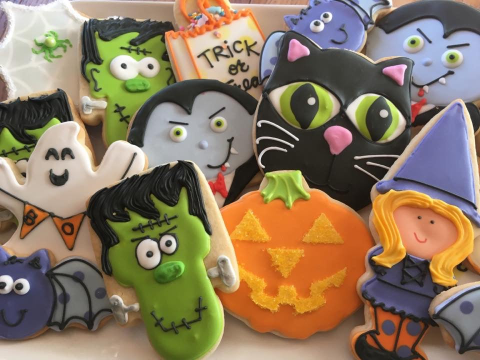 Decorated Cookie - Halloween - Assorted Dozen