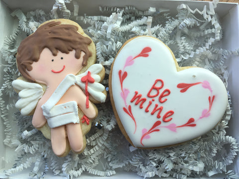 Valentine's Day - Decorated Cookies: Cupid Set