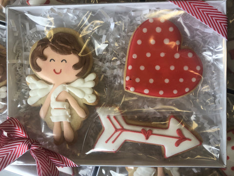 Cupid Set (3 cookies)