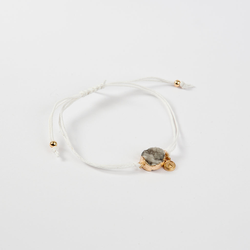 Bracelet Druzy Power White