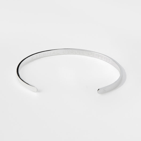 "Bangle "" Eternal circle of love """
