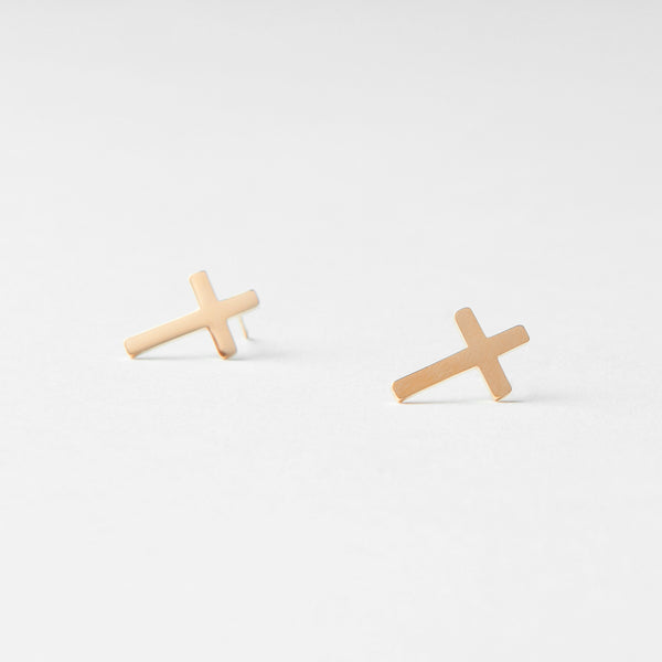 "Earrings ""Cross"""