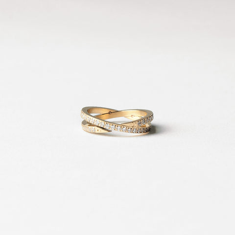 "Ring ""Double Strassy"""