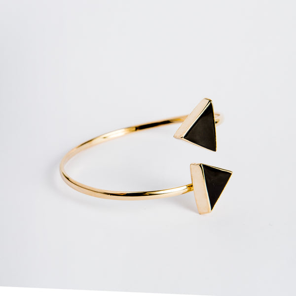 Bracelet Triangle Black Onyx