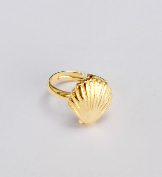 Shell ring Gold