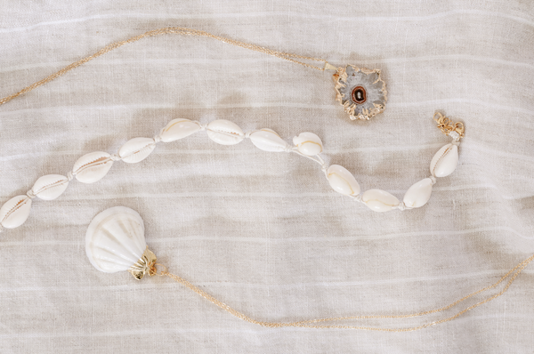 Necklace Shell Cowry Choker