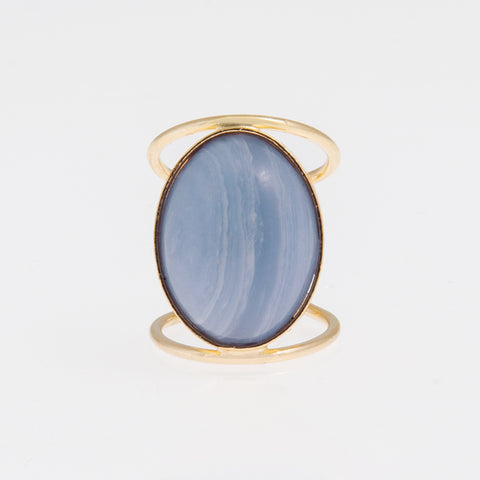 Ring Blue Quartz