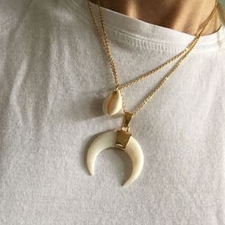 Necklace Shell Sharky - short