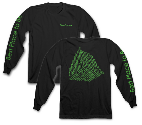 Glow in the Dark Collage - Unisex Long Sleeve