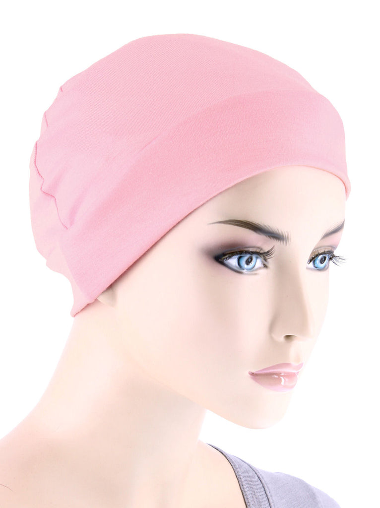 CE-CHEMOCAP-BABYPINK#Chemo Cap in Baby Pink