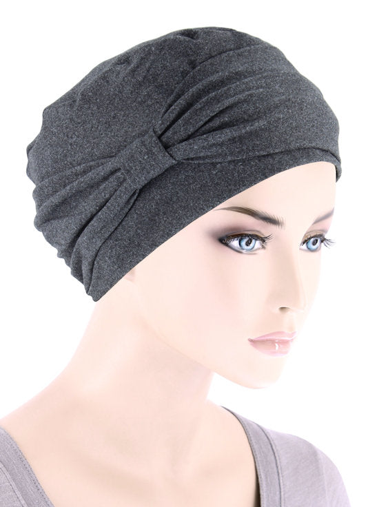 NCCB-CHARCOAL#Comfort Cap in Buttery Soft Charcoal Gray