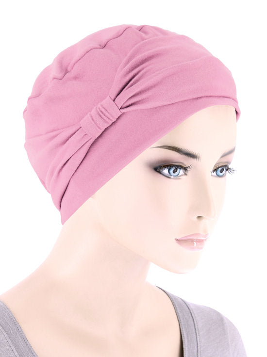 NCCB-LTPINK#Comfort Cap in Buttery Soft Light Pink